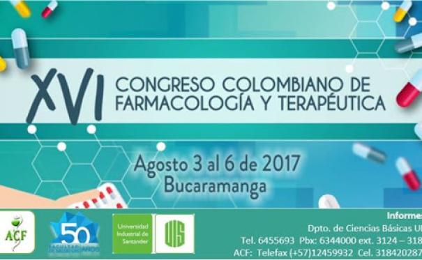 XVI Congreso de Farmacología y Terapéutica